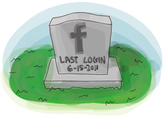 facebook headstone What Happens to Your Facebook Page Upon Death?